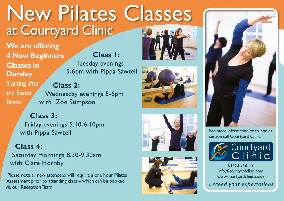 New Pilates Classes Courtyard Clinic